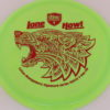 PD - Swirly S Line - Colten Montgomery Lone Howl - red - 175g - 175-5g - somewhat-flat - neutral