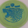 PD - Swirly S Line - Colten Montgomery Lone Howl - blue - 175g - 174-3g - somewhat-flat - neutral