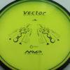 Vector - yellowgreen - black - proton - black - 176g - 174-9g - somewhat-domey - neutral