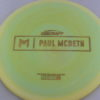Malta - Paul McBeth Prototype - gold-disco-squares - 173-175g - 175-1g - somewhat-flat - neutral