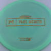 Malta - Paul McBeth Prototype - gold-disco-squares - 173-175g - 174-8g - somewhat-flat - neutral