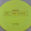 Malta - Paul McBeth Prototype - gold-dots-mini - 164-166g - 167-1g - somewhat-domey - neutral