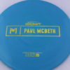 Malta - Paul McBeth Prototype - gold-dots-mini - 164-166g - 166-8g - somewhat-domey - somewhat-gummy