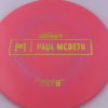 Malta - Paul McBeth Prototype - gold-dots-mini - 164-166g - 166-2g - neutral - somewhat-gummy