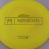 Malta - Paul McBeth Prototype - gold-dots-mini - 164-166g - 166-7g - neutral - somewhat-gummy