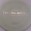 Malta - Paul McBeth Prototype - silver-circles - 164-166g - 167-4g - somewhat-flat - neutral