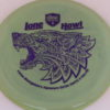 PD - Swirly S Line - Colten Montgomery Lone Howl - purple - 175g - 176-4g - somewhat-flat - neutral