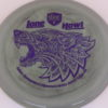 PD - Swirly S Line - Colten Montgomery Lone Howl - purple - 175g - 176-9g - somewhat-flat - neutral