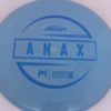 Anax - First Run - blue-mini-dots-and-stars - 173-175g - 174-1g - somewhat-domey - somewhat-stiff