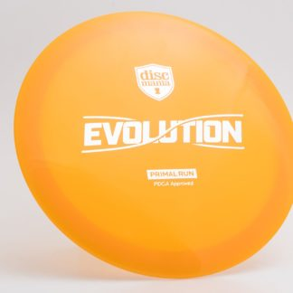 Discmania Enigma - Orange with Silver foil Primal run