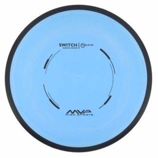 MVP Switch - Blue core, black rim, black stamp