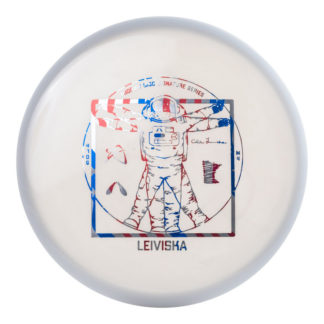 Cale Leiviska M4 - White with Flag foil stamp