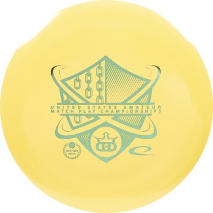BioFuzion Raider - Light Yellow with Teal foil stamp