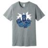 Doc Tee - MVP Shirt - grey-heather - white - silver - blue - medium