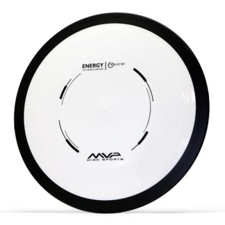MVP Energy - White Core, Black Rim, Black stamp