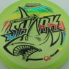 Shark - Luster Champion - 30th Anniversary - green - black - rainbow - 180g - 181-2g - somewhat-domey - neutral