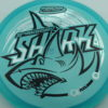 Shark - Luster Champion - 30th Anniversary - blue - black - silver - 180g - 180-2g - somewhat-domey - neutral