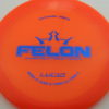 Felon - orange - lucid - blue - 304 - 173g - 173-9g - super-flat - neutral