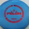 Felon - blue - biofuzion - red - 304 - 174g - 175-4g - super-flat - neutral