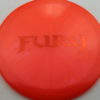 Fury - Opto-X Glimmer - orange - orange - 176g - 177-3g - pretty-domey - somewhat-stiff