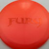 Fury - Opto-X Glimmer - orange - orange - 176g - 177-6g - pretty-domey - somewhat-stiff