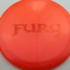 Fury - Opto-X Glimmer - orange - orange - 173g - 174-8g - pretty-domey - somewhat-stiff