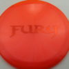 Fury - Opto-X Glimmer - orange - orange - 173g - 174-9g - pretty-domey - somewhat-stiff