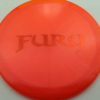 Fury - Opto-X Glimmer - orange - orange - 176g - 177-4g - pretty-domey - somewhat-stiff