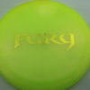 Fury - Opto-X Glimmer - yellow - yellow - 175g - 176-4g - pretty-domey - somewhat-stiff