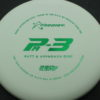 PA3 - white - 350g - green - 304 - 174g - 175-5g - somewhat-puddle-top - pretty-stiff