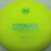 Grym - yellow - k1 - teal-dots-small - 171g - 172-3g - somewhat-domey - neutral