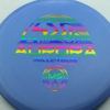 Aurora MS - blue - standard - rainbow - 180g - 181-7g - pretty-flat - neutral
