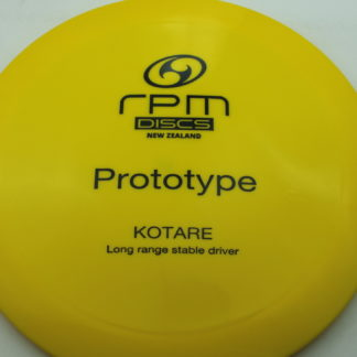 RPM Kotare Prototype - Yellow with Black stamp
