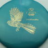 Piwakawaka - teal - atomic - silver - 180g - 182-6g - somewhat-domey - somewhat-gummy