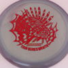 Wraith - Swirly Star - Madison Walker - red - 170g - 170-8g - somewhat-domey - neutral