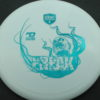October Ghouls - Discmania PD, PD2, DD2, P2 - pd - white - s-line - teal - 175g - 173-9g - neutral - neutral
