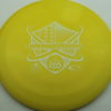 Raider - BioFuzion - yellow - white - 172g - 173-4g - somewhat-domey - neutral