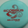 Scorpius - light-blue - standard - red-dots-mini - 167g - 167-8g - neutral - somewhat-gummy