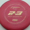 PA3 - redpink - 350g - gold - 304 - 174g - 175-4g - somewhat-puddle-top - pretty-stiff