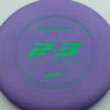 PA3 - purple - 350g - green - 304 - 174g - 175-0g - somewhat-puddle-top - pretty-stiff