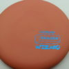 Wizard - pinkorange - eraser - blue - 304 - 174g - 173-7g - super-flat - neutral