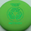 Wizard - green - organic - green - 304 - 175g - 174-3g - pretty-flat - somewhat-stiff