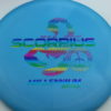 Scorpius - blue - standard - rainbow - 162g - 165-0g - somewhat-flat - somewhat-gummy