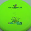 Scorpius - Sirius - Gregg Barsby 2018 World Champion - green - sirius - acid-party-time - 158g - 160-3g - pretty-flat - neutral