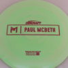 Anax - Paul McBeth Prototype - pink-hexagons - 170-172g - 171-4g - somewhat-domey - somewhat-stiff