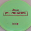 Anax - Paul McBeth Prototype - pink-hexagons - 170-172g - 172-6g - somewhat-domey - somewhat-stiff