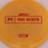 Anax - Paul McBeth Prototype - red - 175-176g - 177-7g - somewhat-domey - somewhat-stiff