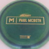 Anax - Paul McBeth Prototype - gold - 175-176g - 176-1g - somewhat-domey - somewhat-stiff