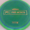 Anax - Paul McBeth Prototype - gold - 175-176g - 176-0g - somewhat-domey - neutral