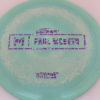 Anax - Paul McBeth Prototype - purple-silver-spotted-blocks - 173-175g - 175-8g - somewhat-domey - neutral